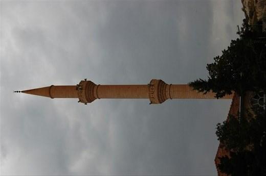 Minaret near hotel Cappadocia