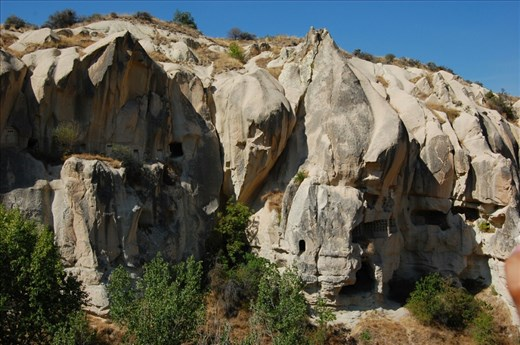 Stone cave housing dating back to early 100 BC