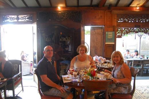 Celeste, Jan and Peter at Biku