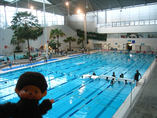 Finally found the Olympic Park Aquatic Center, had a great swim at the pool!