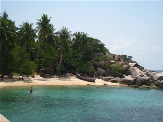 Sai Nuan Beach, a secluded beach excellent for swimming and snorkeling.