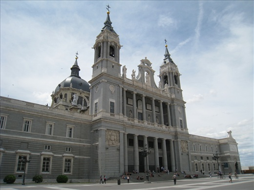 Beautiful cathedral next to Royal Palace, forgot the name.