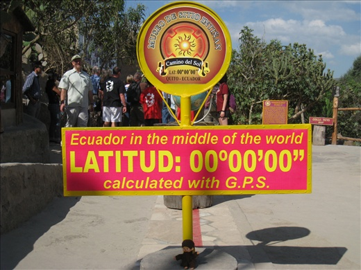 Monchi on the equator, a cheesy but still informative site that talks about the equator and what that means to us on earth.