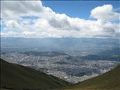 Quito as viewed from the summit, the city is very long and narrow.: by pmok, Views[215]