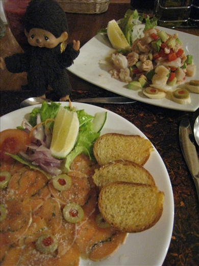 Two trout dishes, trouts are common in the lake close to papallacta, thus are served at all the local restaurants.