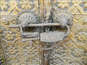 Traditional lock on one of the old building in Patan - 5km south of KTM : by pocoloco, Views[602]