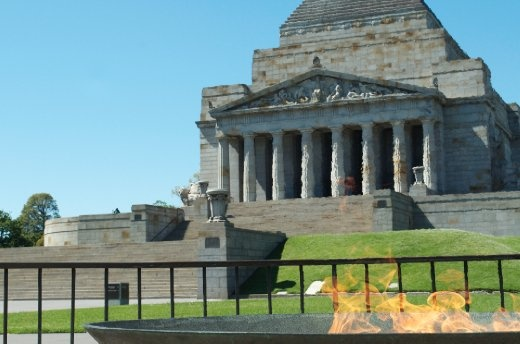The Shrine of Remembrance is Victoria's memorial to the men and women who have served Australia in armed conflicts and peacekeeping operations throughout the nations histrory.