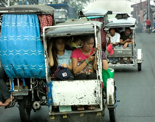 Like most places, a hectic commute to work is inevitable.  However, it is a special kind of hectic on the Marcos Highway.