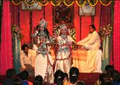 Artists performing during Lord Krishna Birthday celebrations: by prads12000, Views[123]
