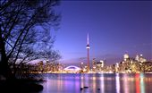 The busy city of Toronto seems so peaceful and serene from a distance. : by preeteesh, Views[529]