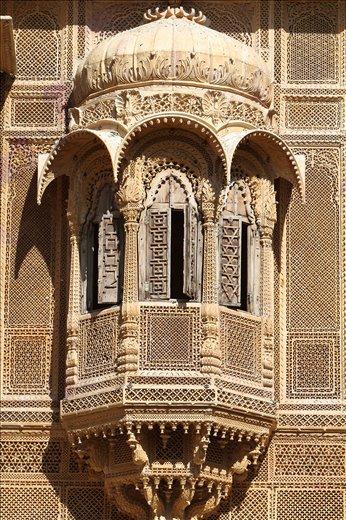 An architectural marvel inside Golden Fort,Jaisailmar,Rajasthan.