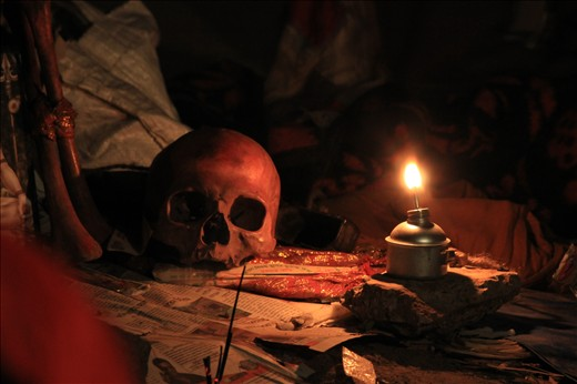Tantrik practice is also a part of the fair