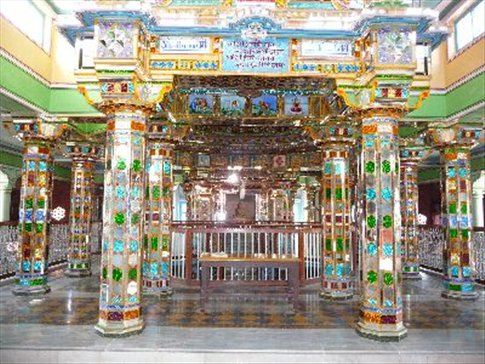 Interior of Jain Temple in Bikaner