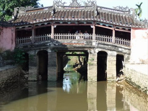 Japanese covered bridge at Hoi An