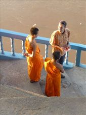 monks waiting to board boat: by pshah13, Views[181]
