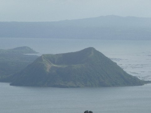 Taal Volcano - smallest volcano in the world.