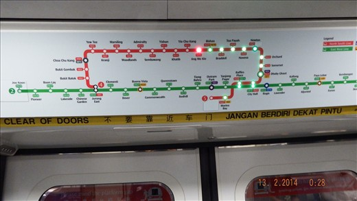 singapore metro have three language spoken , which city in europe or in state can do that ?