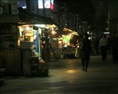 Night street vendors on the back streets of Seoul.: by pwright555, Views[663]
