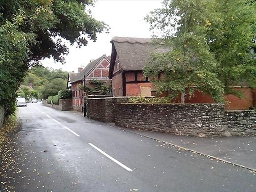 Church Stratton.  A cute wee town.