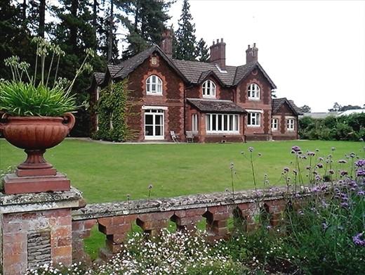 Original head gardener\'s cottage, inside the walled garden. Now a ...