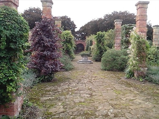 Inside the walled garden
