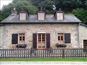 One of the lock houses.  There must be hundreds of these along the canal.: by quando, Views[206]