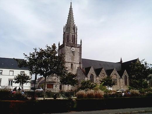Pretty church Pontivy.