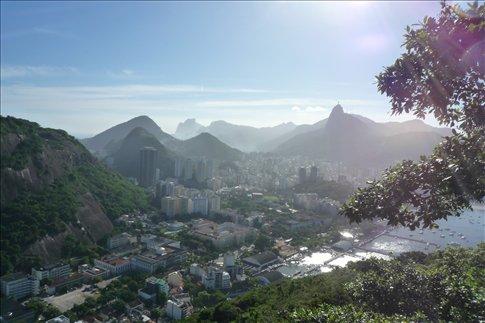 Vista de la cidade Maravilhosa desde el Pao de Azucar