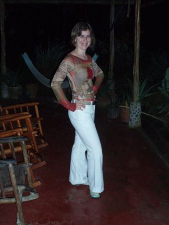 OMG, Rachel now fits into those white trousers she bought two years ago!