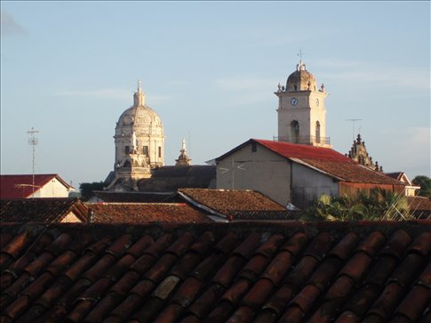 Rooftop view of the Cathedral
