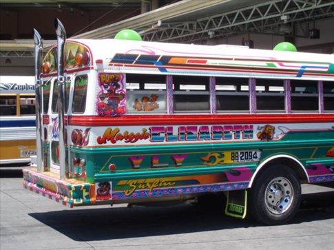 Chicken bus extraordinaire