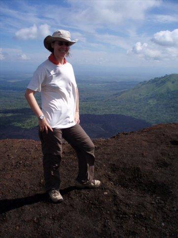 Rachel, conqueror of Cerro Punto!