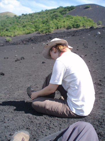 Now its time to get all that volcanic sand and grit out of your shoes...