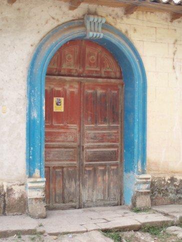 Doorway detail, Gracias
