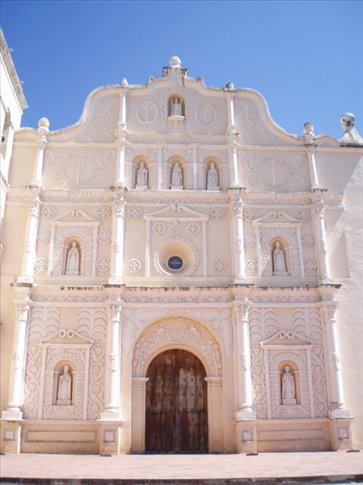 Comayagua cathedral facade