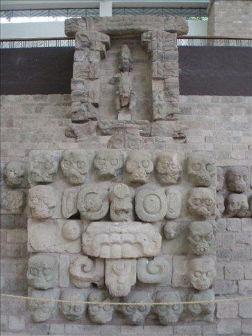 Skull altar - only the best warriors sacrificed themselves here...
