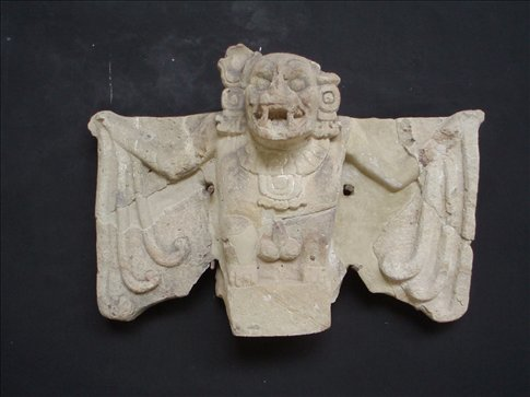 The bat was the sacred symbol of Copan - messengers between the dead and the living