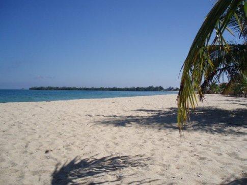 Placencia has rather gorgeous beaches and an attitude near horizontal