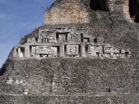 Stucco Frieze, El Castillo, Xunantunich