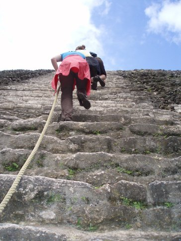 Rachel going up...