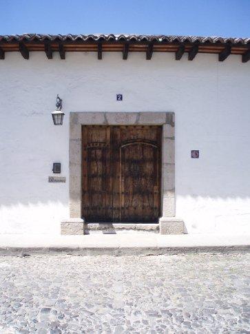 Doorway, Antigua