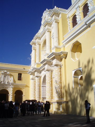 La Merced Church, funeral.