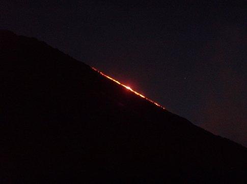 Lava flow, Volcan Pacaya