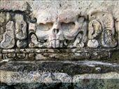 Skull motif, Palenque: by rachel_and_daniel, Views[288]