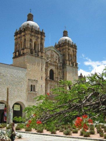 The convent, Oaxaca