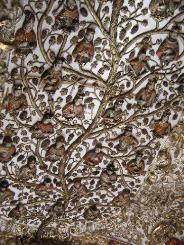 Plaster frieze, Santa Domingo, Oaxaca