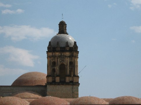Pod roofscape, museum of culture, Oaxaca