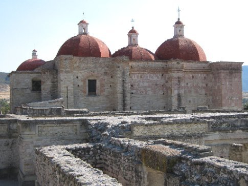 Mitla - the old culture, and what replaced it...