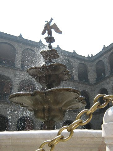 Fountain at the National Palace