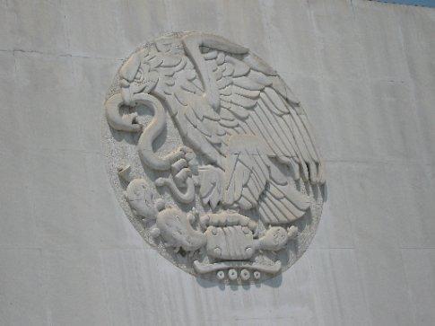 Mexican Eagle, Chapultepec Park